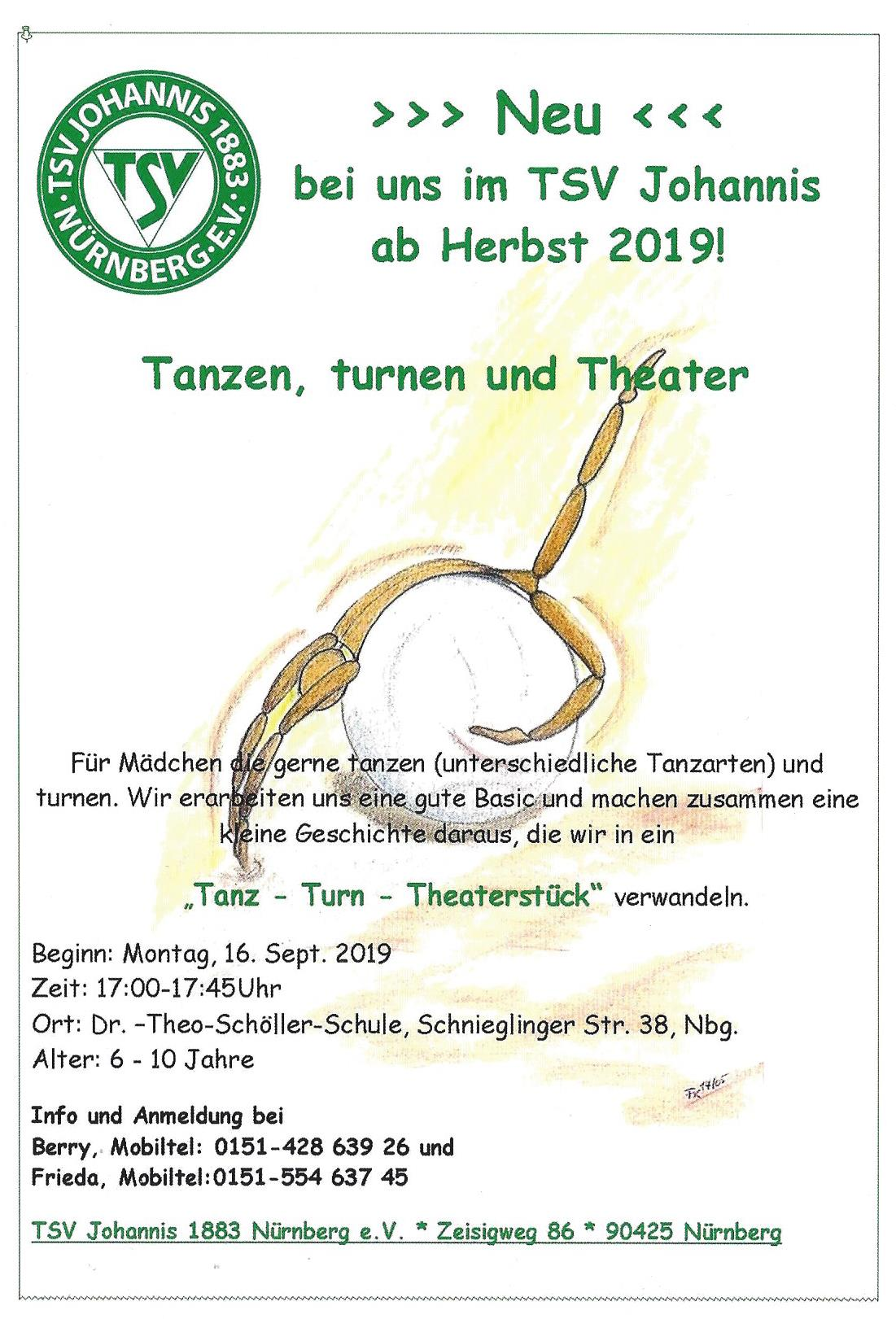 Tanzen Turnen Theater